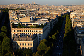 Paris city. France.8th and 17th arrondissement. Paris. France.