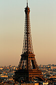 Paris city. The Eiffel tower. Paris. France.