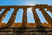 Temple of Juno ruins, Agrigento, Sicily, Italy