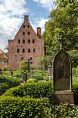 Medingen Abbey, graves, Lower Saxony, Germany
