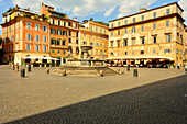 Piazza Santa Maria in Trastevere, Rome, Lazio, Italy, Europe