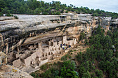 The Cliff Palace Indian dwelling, Mesa Verde National Park, UNESCO World Heritage Site, Colorado, United States of America, North America