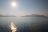 Sunshine over Aegean Sea, Marmaris, Anatolia, Turkey, Asia Minor, Eurasia