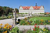 Weikersheim Castle, Hohenlohe Region, Taubertal Valley, Romantische Strasse (Romantic Road), Baden Wurttemberg, Germany, Europe