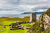 Remains of a monastery at Selje, Nordland, Norway, Scandinavia, Europe