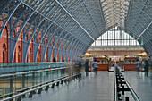 St. Pancras International railway station, London, England, United Kingdom, Europe