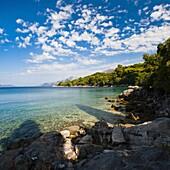 Kolocep Island (Kalamota), Elaphiti Islands (Elaphites), Dalmatian Coast, Adriatic Sea, Croatia, Europe