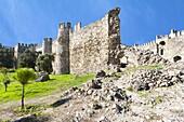 Mamure castle, Anamur, Anatolia, Southwest Turkey, Asia Minor, Eurasia