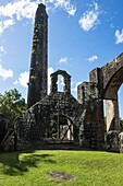 Ruins of an old mill, St. Kitts, St. Kitts and Nevis, Leeward Islands, West Indies, Caribbean, Central America