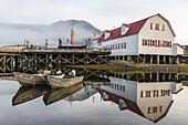The Norwegian fishing town of Petersburg, Southeast Alaska, United States of America, North America