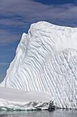 Huge iceberg near Booth Island, western side of the Antarctic Peninsula, Southern Ocean, Polar Regions