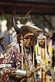 Indian pow wow, Sqylax, British Columbia, Canada, North America