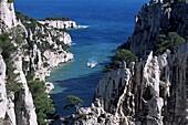 Cassis, Calanque d'en Vau, Bouches-du-Rhone, Provence, France, Mediterranean, Europe