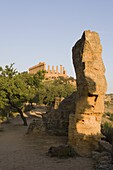 Temple of Hera, Valley of the Temples (Valle dei Templi), Agrigento, UNESCO World Heritage Site, Sicily, Italy, Europe