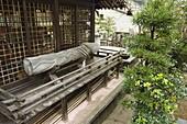 Phallic objects at Taga jinja shrine and sex museum, Uwajima, Ehime prefecture, Shikoku Island, Japan, Asia