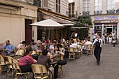 Bistrot, Rue Saint-Severin, Quartier Latin, Paris, France, Europe