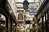 Passage des Panoramas, Paris, France, Europe