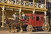 Wagon in Old Tucson Studios, Tucson, Arizona, United States of America, North America