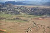 Aerial photo of Namib Naukluft National Park, Namibia, Africa