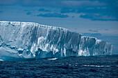 Giant iceberg, near Shag Rocks, South Atlantic Ocean between Falkland Islands and South Georgia Island, Antarctica