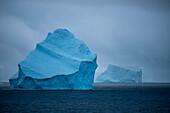 Majestic icebergs, near Livingstone Island, South Orkney Islands, Antarctica