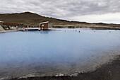 Geothermal hot spring, Reykjahlid, Iceland, Polar Regions