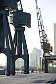 Victoria Docks, London Docklands, London, England, United Kingdom, Europe