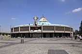 Our Lady of Guadalupe, modern or new Basilica, the most visited Catholic shrine in the Americas, Mexico City, Mexico, North America