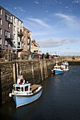 St. Andrews Harbour, St. Andrews, Fife, Scotland, United Kingdom, Europe