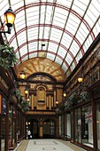 The Central Arcade, one of the 19th century buildings in Grainger Town, part of central Newcastle-upon-Tyne, Tyne and Wear, England, United Kingdom, Europe