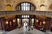 Entrance Hall, Gellert Baths, Budapest, Hungary, Europe
