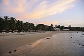 Sunset at Saly, Senegal, West Africa, Africa