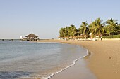 Beach at Saly, Senegal, West Africa, Africa