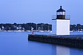 Derby Wharf Lighthouse, Salem, Greater Boston Area, Massachusetts, New England, United States of America, North America