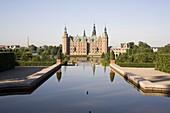 Frederiksborg castle, Hillerod, North Zealand, Denmark, Scandinavia, Europe
