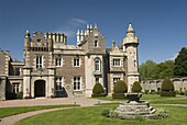 Abbotsford, home of Sir Walter Scott from 1812 to 1832, near Melrose, Borders, Scotland, United Kingdom, Europe