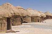 Ayaz-Qala yurt camp,  Karakalpakstan,  Uzbekistan,  Central Asia