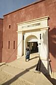 D'Estr?À es Fort now a museum of slavery, Goree Island, UNESCO World Heritage Site, near Dakar, Senegal, West Africa, Africa