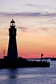 Buffalo Lighthouse, Buffalo Port, New York State, United States of America, North America
