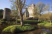 Blarney Castle in springtime, County Cork, Munster, Republic of Ireland, Europe