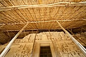 Preservation and recreation of the Tomb of Ukit Kan Le'K Tok, Ek Balam, Yucatan, Mexico, North America