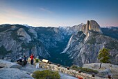 Half Dome from Glacier Point, Yosemite National Park, UNESCO World Heritage Site, California, United States of America, North America