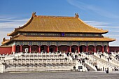 Hall of Supreme Harmony, Outer Court, Forbidden City, Beijing, China, Asia