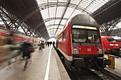 Railway Station, Leipzig, Saxony, Germany, Europe