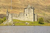Kilchurn Castle, Loch Awe, Argyll and Bute, Scottish Highlands, Scotland