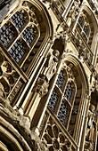 Decorative stonework, Cambridge, England