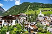 View of Corvara, Badia Valley, Bolzano Province, Trentino-Alto Adige/South Tyrol, Italian Dolomites, Italy, Europe
