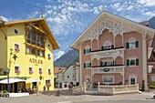 Hotels, Ortisei, Gardena Valley, Bolzano Province, Trentino-Alto Adige/South Tyrol, Italian Dolomites, Italy, Europe