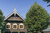 Russian Colony Alexandrowka , Block House, Potsdam, Brandenburg, East Germany