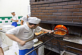 Pizzeria da Michele, Pizza, Marinara and Margherita, simple and traditional, wood-fired oven, dough, pastry, popular, fast-food, Italian, restaurant, lifestyle, culture, cult, famous, Italian food, Naples, Italy